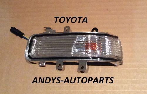 TOYOTA HI LUX PICK-UP 2009 ONWARDS WING MIRROR INDICATOR LENS L/H OR R/H
